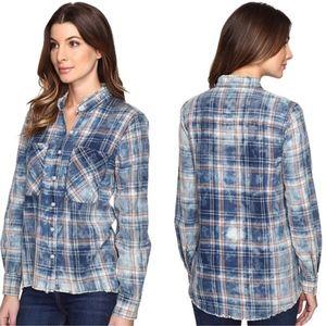 Joe's Jean Collection Aslin Plaid Shirt-Med